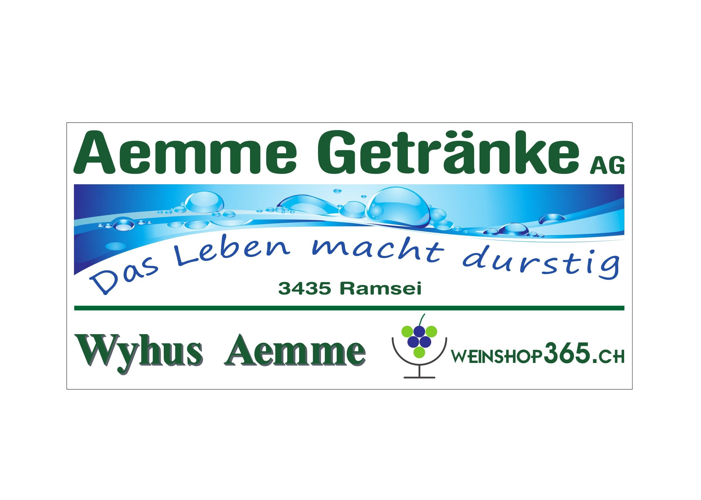 Logo Aemmegetränke