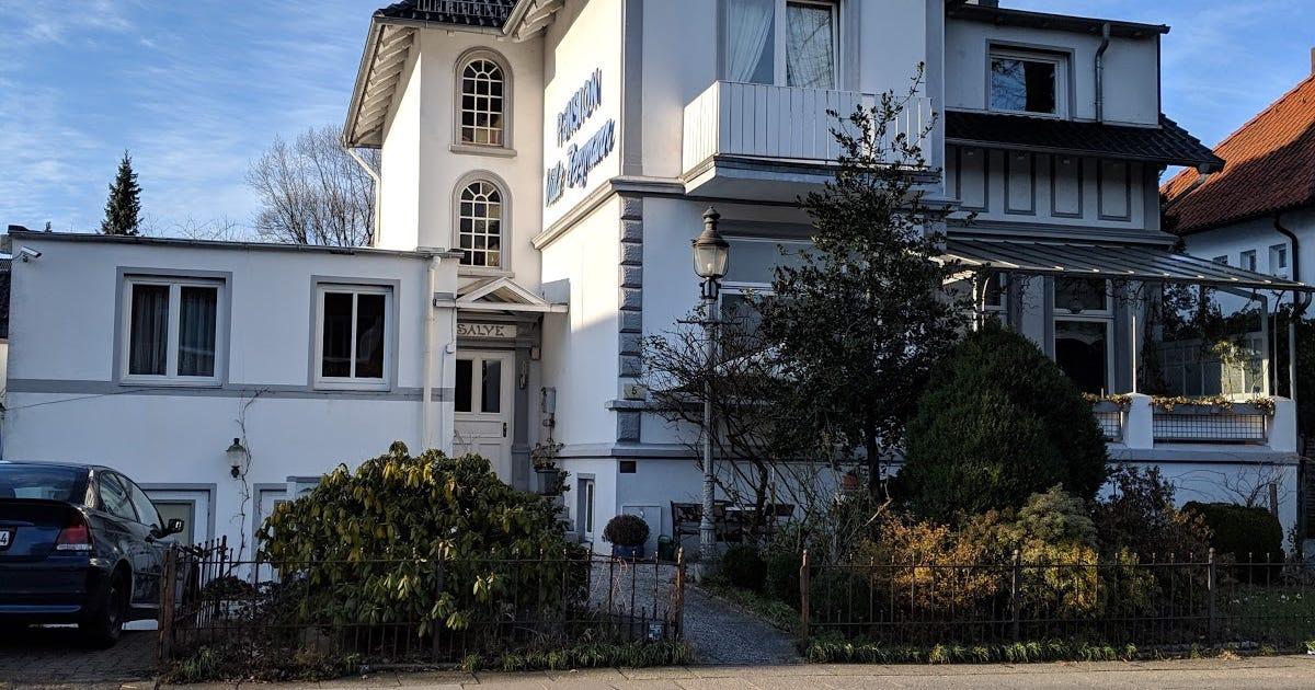 Pension In Hamburg Pension Villa Bergmann