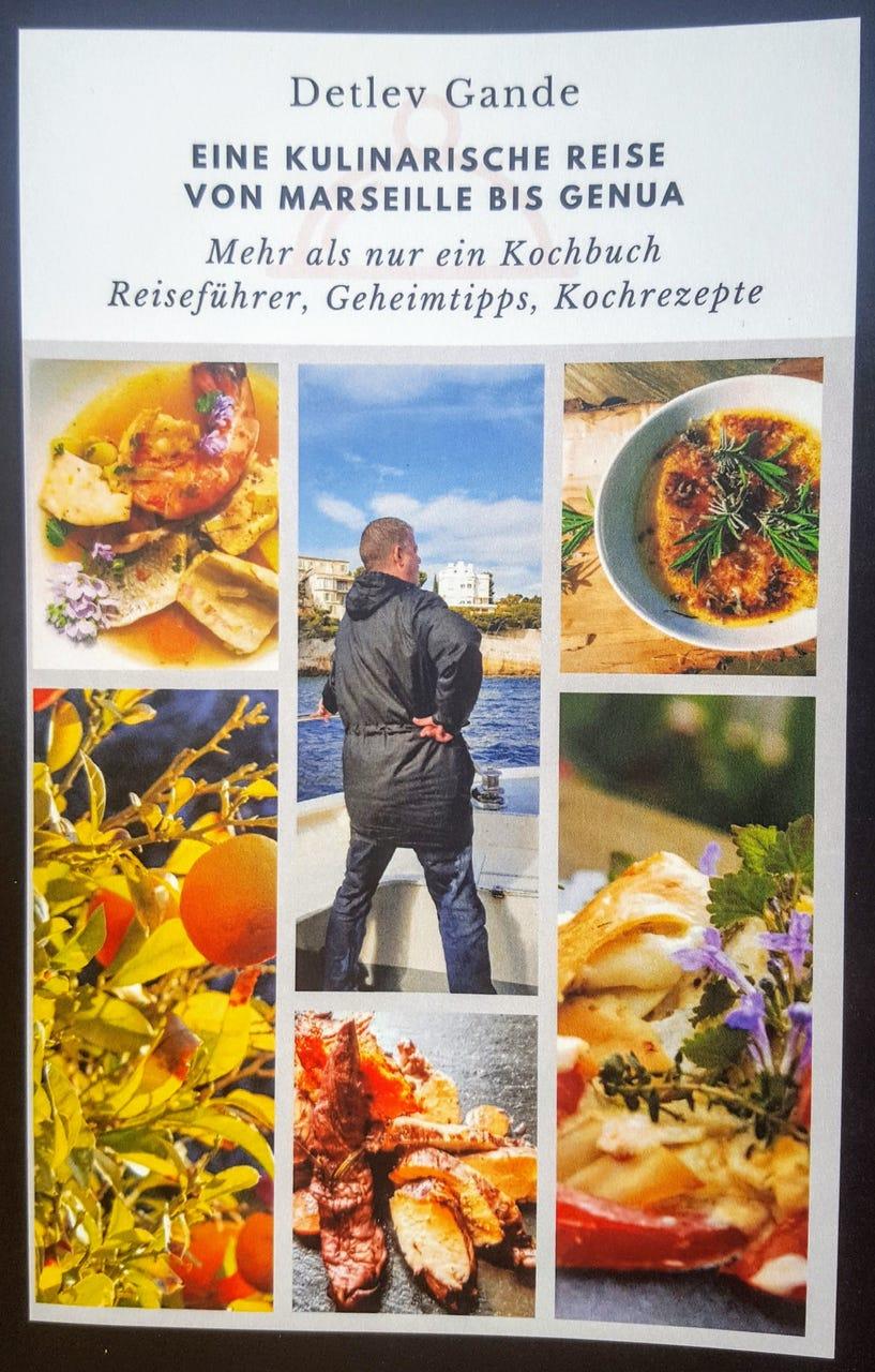 Cover Eine Kulinarische Reise von Marseillebis Genua