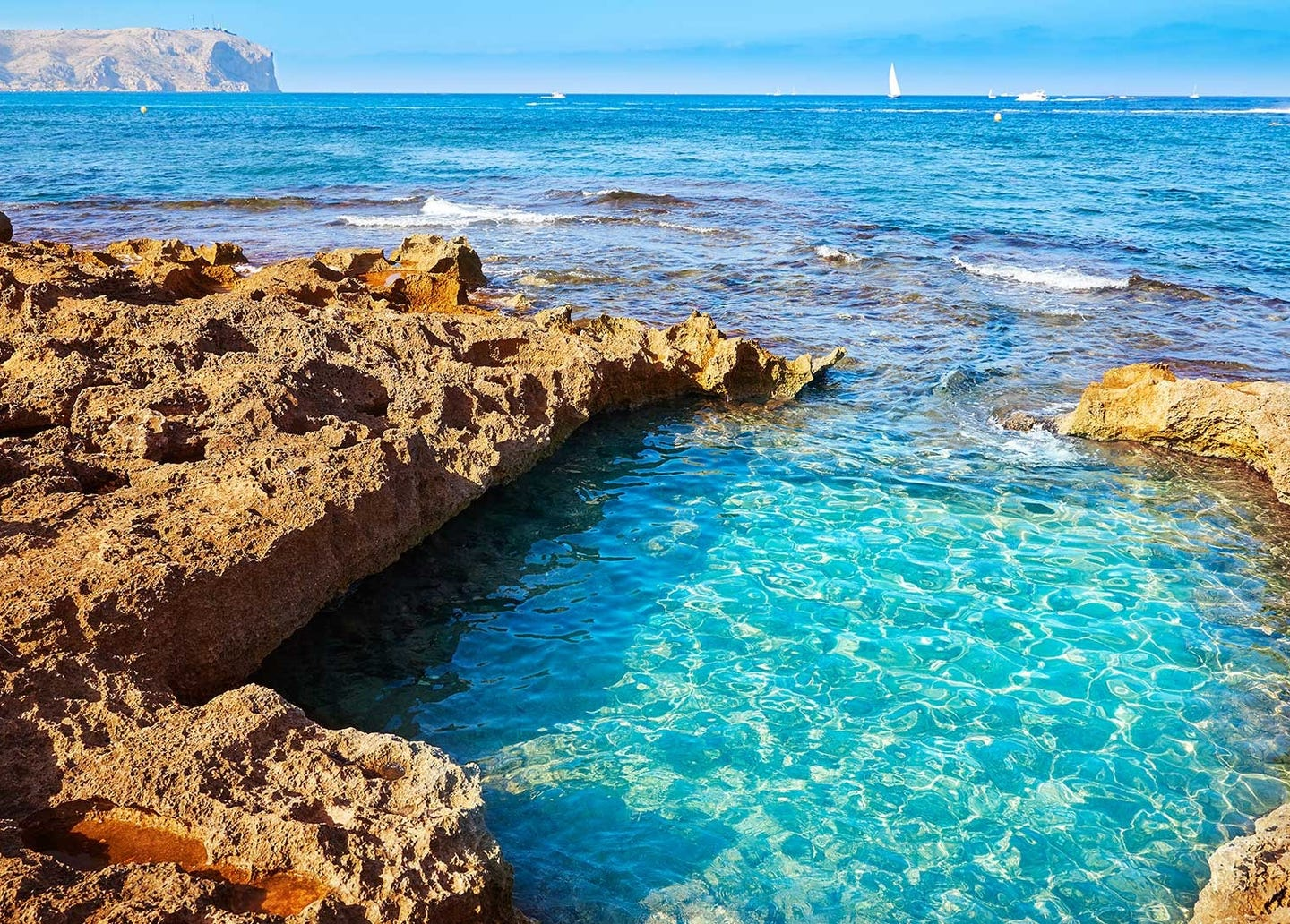 Tour Virtual | Playa Montañar · Caleta, Javea